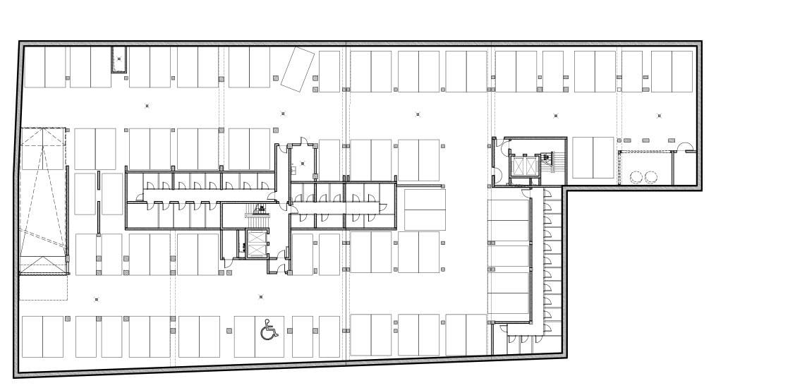 Apartamenty Halo - Poziom -2